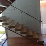 Internal Stair Glass Balustrades - Perth WA