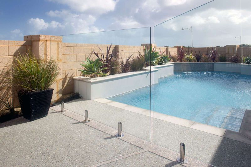 Glass Pool Fencing Hillarys